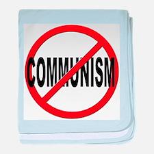 Anti / No Communism baby blanket