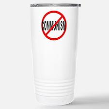 Anti / No Communism Stainless Steel Travel Mug