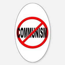 Anti / No Communism Decal