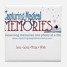 Capturing Magical Memories Tile Coaster