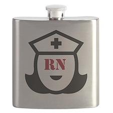 Registered Nurse (RN) Flask