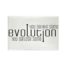 Evolution: You Darwin Some Rectangle Magnet