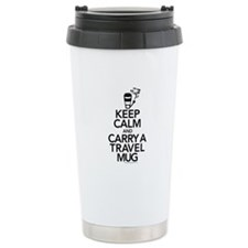 Keep Calm and Carry Travel Mug Thermos Mug