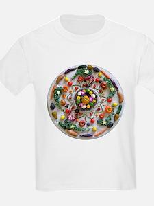 Fruit & Veggie Mandala T-Shirt