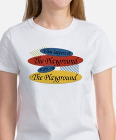 What Happens At The Playground Tee
