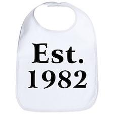 Est. 1982 Bib