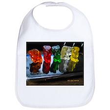 Gummy Bear Friends Bib