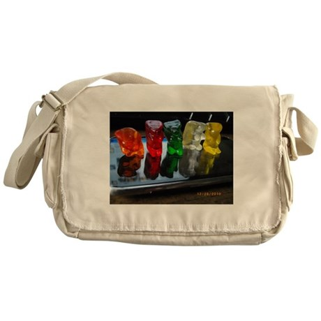 Gummy Bear Friends Messenger Bag