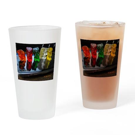 Gummy Bear Friends Drinking Glass