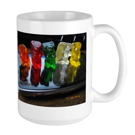 Gummy Bear Friends Large Mug