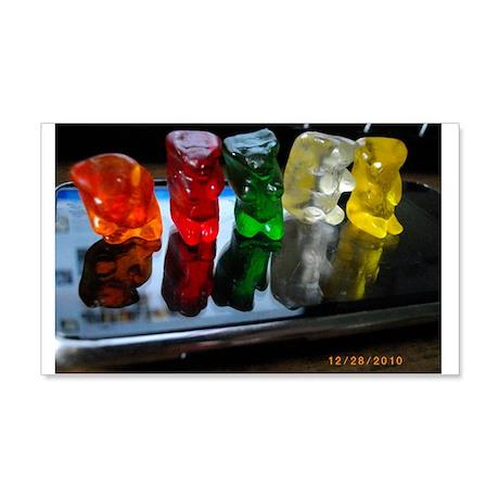 Gummy Bear Friends 20x12 Wall Decal