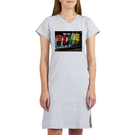 Gummy Bear Friends Women's Nightshirt