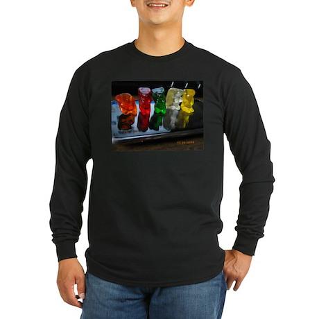 Gummy Bear Friends Long Sleeve Dark T-Shirt