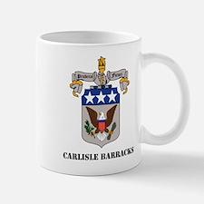 Carlisle Barracks with Text Small Small Mug