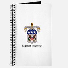 Carlisle Barracks with Text Journal