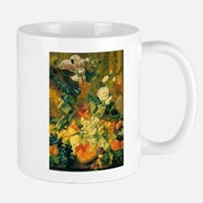 Grapes and Hollyhocks Small Small Mug
