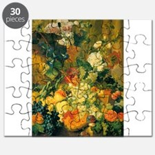 Grapes and Hollyhocks Puzzle
