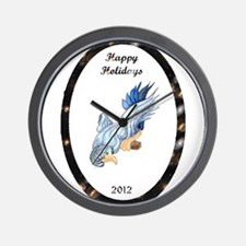 Bird of Happiness Wall Clock