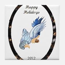 Bird of Happiness Tile Coaster