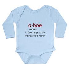 Oboe Definition Long Sleeve Infant Bodysuit