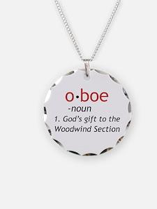 Oboe Definition Necklace