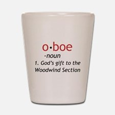 Oboe Definition Shot Glass