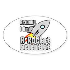 Rocket Scientist Decal