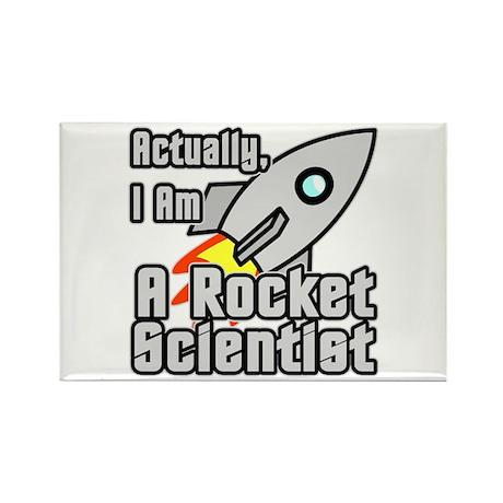 Rocket Scientist Rectangle Magnet (10 pack)