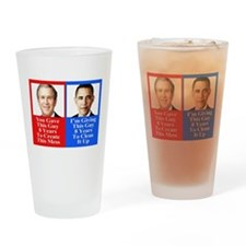 Give Obama 8 Years Drinking Glass