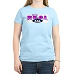 They're Real Women's Pink T-Shirt