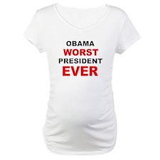 anti obama worst presdarkbumplL.png Shirt