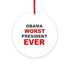 anti obama worst presdarkbumplL.png Ornament (Roun