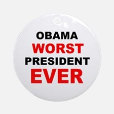 anti obama worst presdarkbumplL.png Ornament (Roun