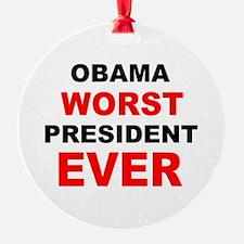 anti obama worst presdarkbumplL.png Ornament