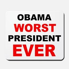 anti obama worst presdarkbumplL.png Mousepad