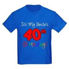 Uncles 40th Birthday T