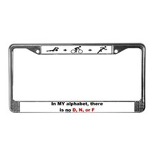"""No D, N, or F"" License Plate Frame"