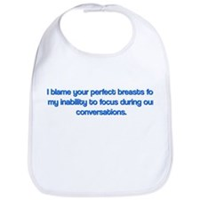 Funny Perfect Breasts Bib