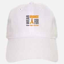 Orange Awareness Ribbon Customized Hat