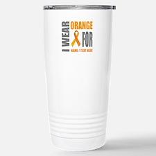 Orange Awareness Travel Mug