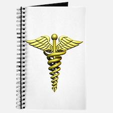 Gold Medical Emblem Journal
