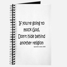 If You're Going To Mock God Journal