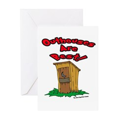 Outhouses are Best Greeting Cards