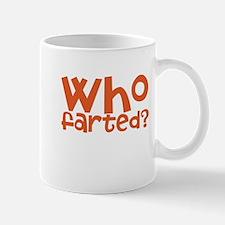 who farted Small Small Mug