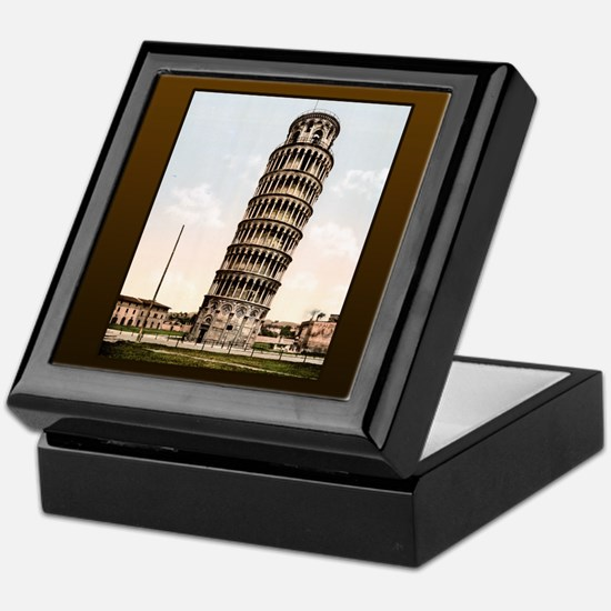 Vintage Leaning Tower Of Pisa Keepsake Box
