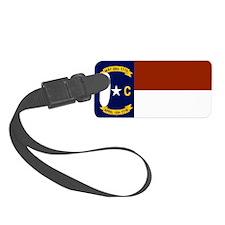 North Carolina United States Flag Luggage Tag