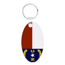 North Carolina United States Flag Keychains