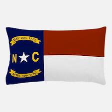 North Carolina United States Flag Pillow Case