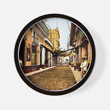Calle de Habana Wall Clock
