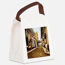 Calle de Habana Canvas Lunch Bag